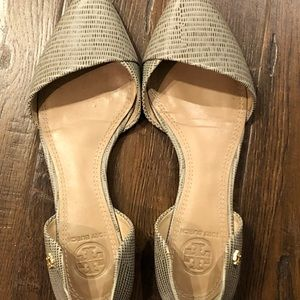 Tory Burch Shoes - Tory Burch Viv Two Toned d'Orse Flats